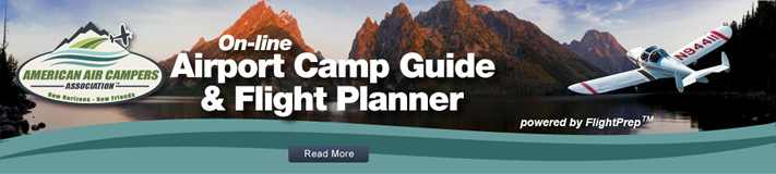 Online Airport Camp Guide and Trip Planner